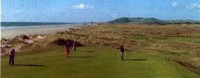 Aberdyfi's 18 hole championship golf course